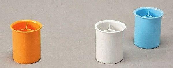 IRIS Pen Stand Round PM-100R, White
