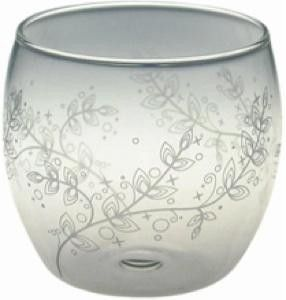 Selleck Heat Resistant Glass Purine Cup, L GFM-17, 3 Pieces, Evergreen
