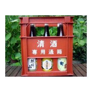Koshi no Kanbai Bessen Ginjo Sake and Local sake (from Niigata prefecture) 6-bottle set 1800ml (alc. 16.2%)