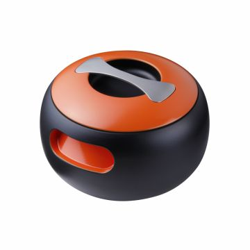 POT OVAL, φ215*145mm, Spanish Orange