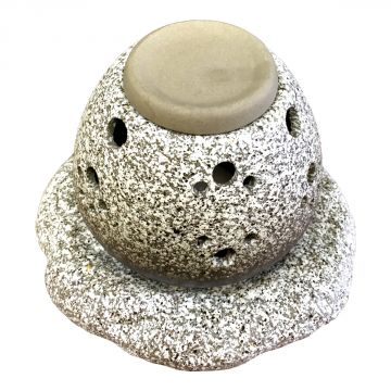 [Tea incense burner] stone egg