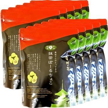 Matcha Chocolate Balls, 60g x 10 packs