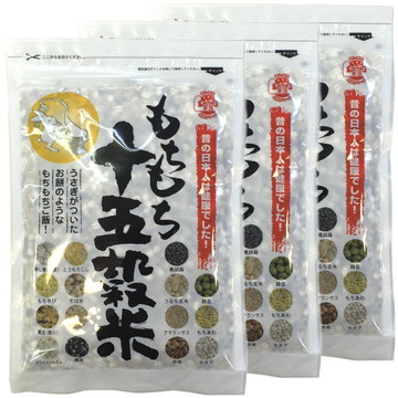 Mochimochi 15-Grain Rice, 280g x 3 packs