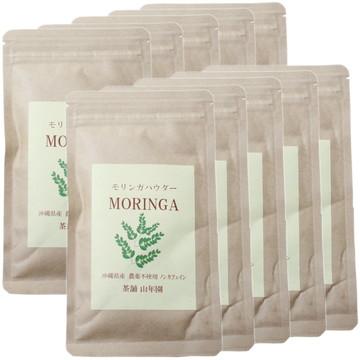 Organic Okinawan Moringa Powder, 30g x 10 packs