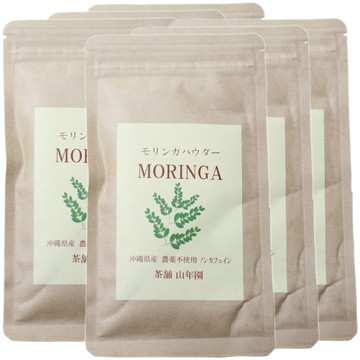 Organic Okinawan Moringa Powder, 30g x 6 packs