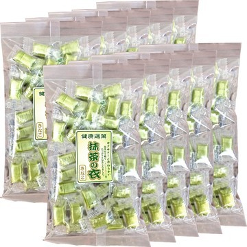 Ariheitou Matcha-Coated Soybean Sweets, 110gx 10 packs
