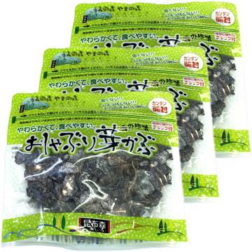Oshaburi Mekabu Seaweed, 95g x 3 packs