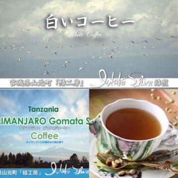 IDAKI SHIN Andromeda Ethiopia Coffee KILIMANJARO  White (Green Coffee) 100g  Powder