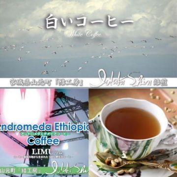 IDAKI SHIN Andromeda Ethiopia Coffee LIMU White (Green Coffee) 100g BEANS