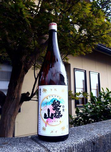 Bandaisan Shirogane Sake 1800ml (alc.15%)