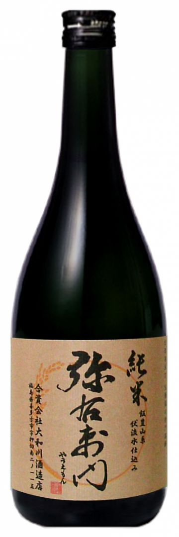Yauemon Junmai Sake 0.72L (alc. 16%)