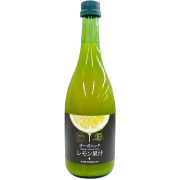 Organic Lemon Juice 720ml