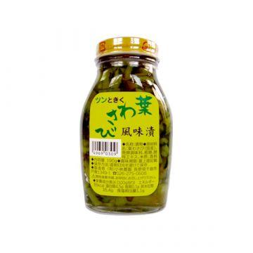 Leaf Wasabi Flavor Pickles 190g