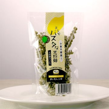 Pasta-like Rice Flour Noodle Spinach 50g