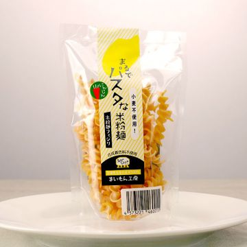 Pasta-like Rice Flour Noodle Carrot 50g
