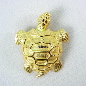[Pre] 750 turtle pendant top [f 215-1]