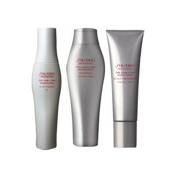 "ADENOVITAL Scalp Shampoo250ml+Scalp Treatment130g×2+ESSENCE""V"" 180ml"