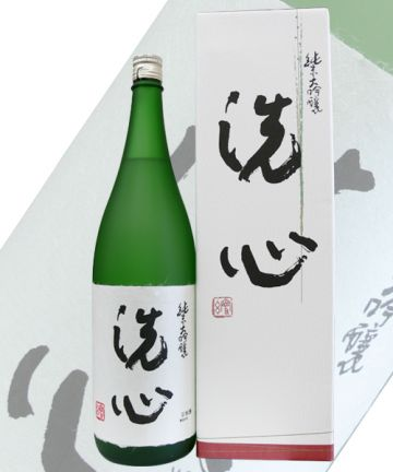 Senshin Junmai Daiginjo 28% Polished  (1800 ml)(alc.15%)