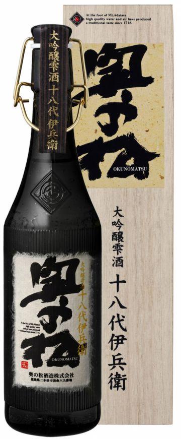 Shizuku 18th Generation Ihei Daiginjo Sake 720ml (alc.17%)