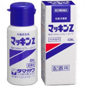 TAMAGAWA  Mackin Z  -Colorless Spray Type- 【Disinfectant (Sterilizer) 】