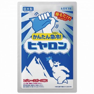 JAPAN LOTTE ★Disposable Instant Cold Pack★ 「HIYARON」 24PACKS