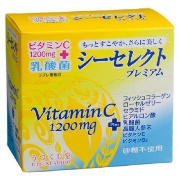 C Select Premium [Granule : Vitamin C1200mg / Collagen / Labrebacterium / Ginseng ]