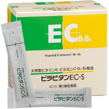 TOA Pharmaceutical  PIRAVITAN EC-S  【For stiffness and numbness due to poor blood circulation】  40 bags