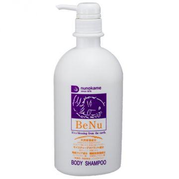 BeNu Rice Koji Body Shampoo 【Composes deodorant ingredient (persimmon tannin), plant-derived moisturizing ingredient (rice bran ceramide, tea leaf extract)】