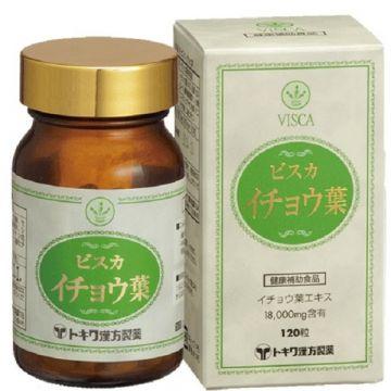 TOKIWA VISCA GINGKO BILOBA LEAF  【Ginkgo biloba extract 18000mg included】