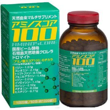 Amino Score 100  【Amino Acid Natural Multi Supplements / Adopted Chlorella from Ishigaki,Okinawa】