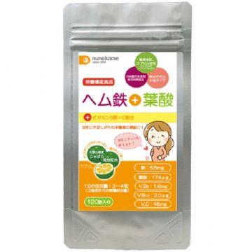 Nunokame  Heme iron + folic acid supplement