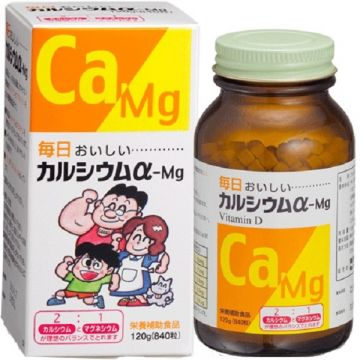 TOA Pharmaceutical :Calcium α‐Mg Tablets 840錠