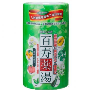 Hyaku-Ju-Yaku-Yu (bath salts) ★Hot baths promote blood circulation★