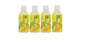 Horaiya Yuzu Amazake 4 Bottles Pack