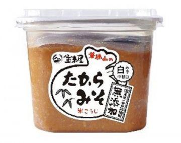 Horaiya Takara Miso White (No  additives)