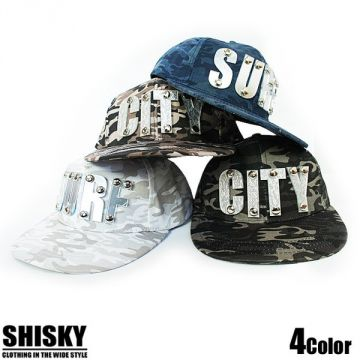 SHISKY Plated Camouflage Print Cap