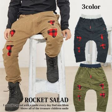 Rocket Salad Checked Rugged Chinos