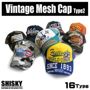 SHISKY American Casual Style Mesh Back Cap