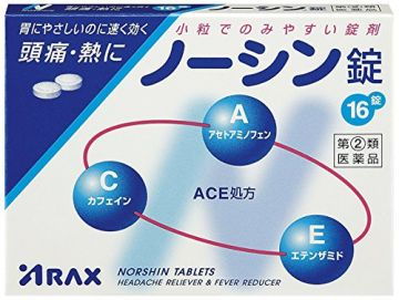 Norshin Headache Reliever and Fever Reducer, 16 tablets