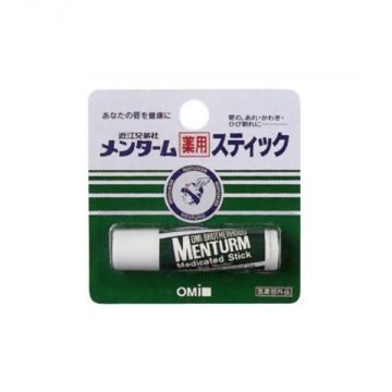 The Omi Brotherhood Menturm Medicated Stick Regular, 5g :Quasi-drug Medicated Products