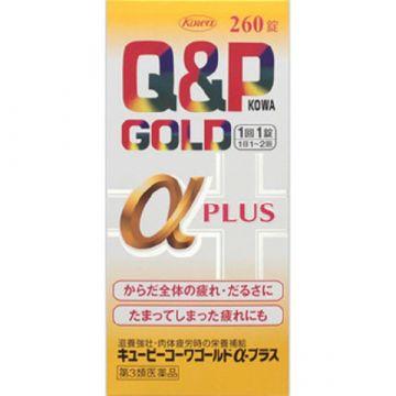 Kowa Q&P Gold Alpha Plus, 160 tablets