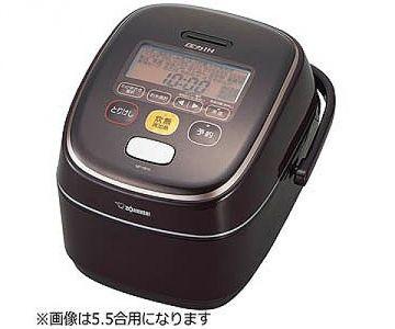Zojirushi IH Rice Cooker Kiwame-daki NP-YB18, 10 Cups, Brown