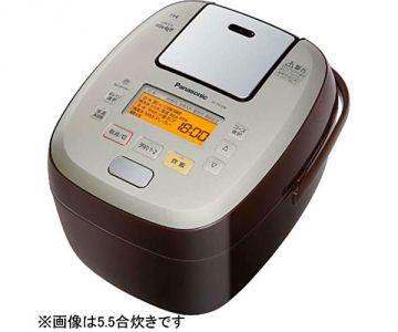 Panasonic Japanese Rice Cooker Odori-daki SR-PA186, 10 Cups, Brown