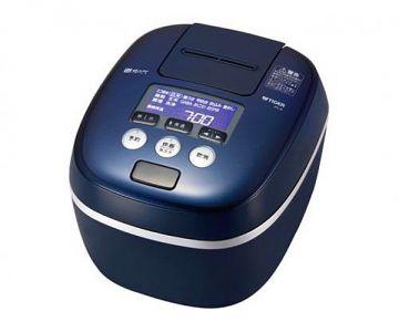 Tiger IH Pressure Rice Cooker JPC-A100, 5.5 Cups, Blue Black