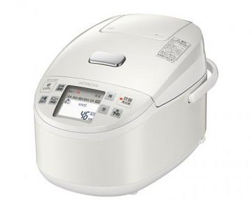Hitachi Japanese Rice Cooker RZ-VX180M, 10 Cups, Pearl White