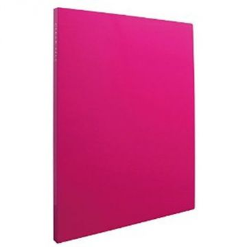 Sekisei Clear File High Transparent A4S20 Pocket 20840 KP-2512-21, Pink