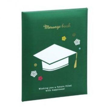 Nakabayashi Message Book MBA4-101-G, A4, Green