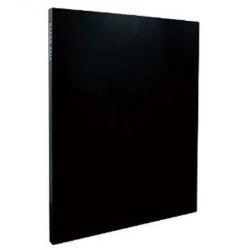 Sekisei Clear File High Transparent A4S20 Pocket 20842 KP-2512-60, Black