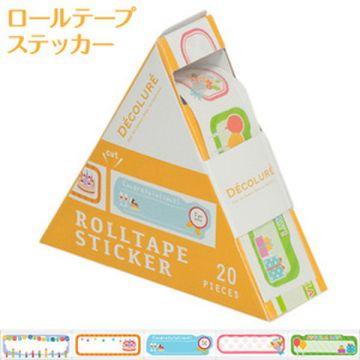 Nakabayashi Dekorure Roll Tape Sticker Birthday RTPS-101-3