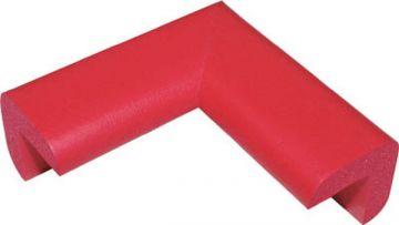 Trusco Nakayama Safe Cushion Corner TAC-25, Small, Red